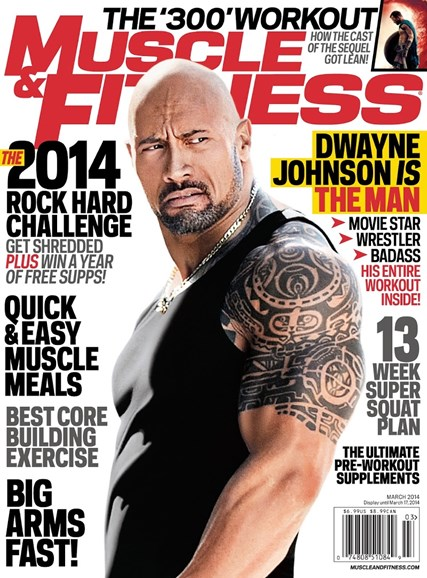 Muscle & Fitness Cover - 3/1/2014