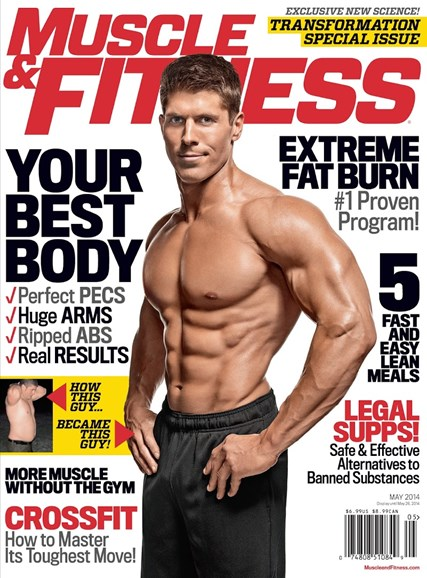 Muscle & Fitness Cover - 5/1/2014