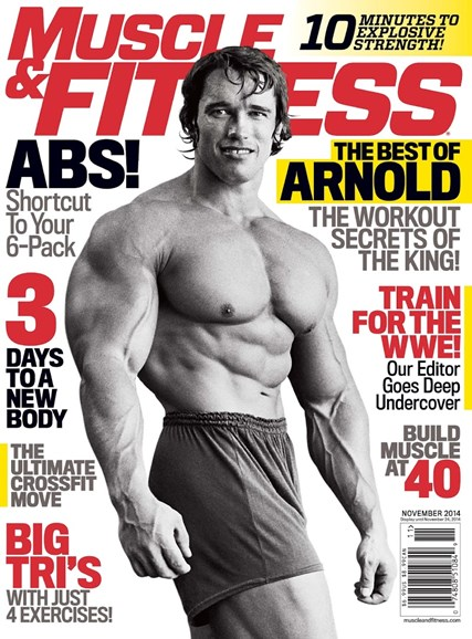 Muscle & Fitness Cover - 11/1/2014