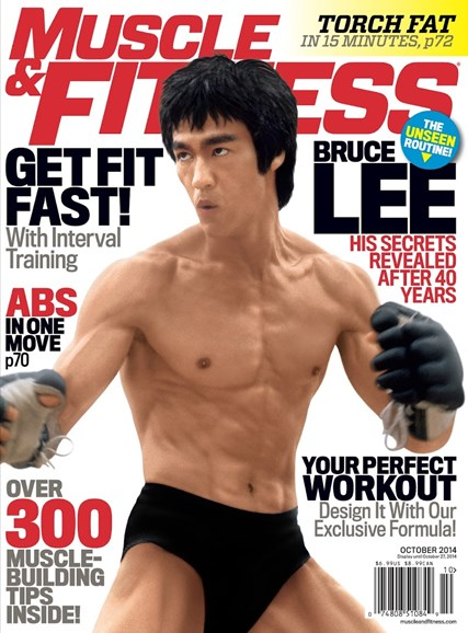 Muscle & Fitness Cover - 10/1/2014
