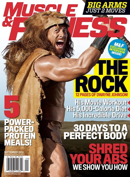 Muscle & Fitness Cover - 9/1/2014