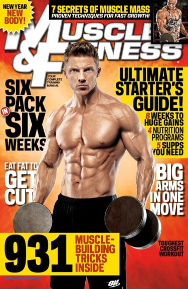 Muscle & Fitness Cover - 1/1/2013
