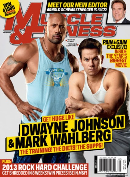 Muscle & Fitness Cover - 5/1/2013