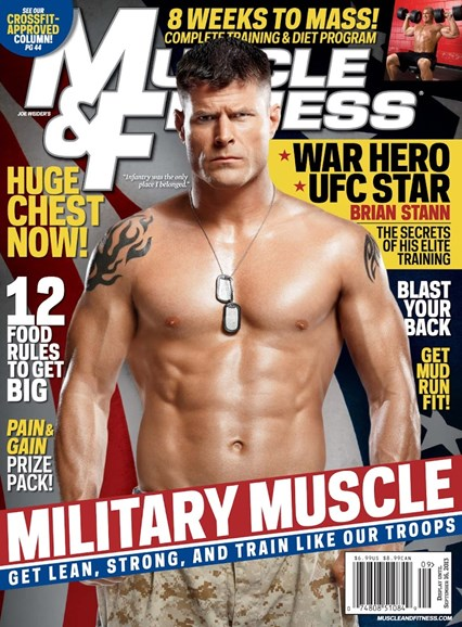 Muscle & Fitness Cover - 9/1/2013