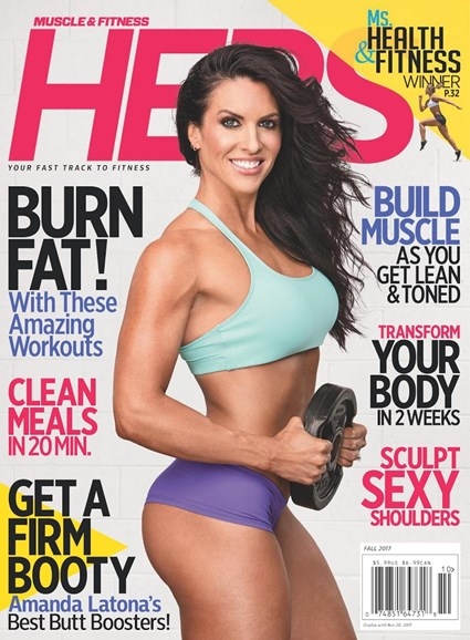 Muscle & Fitness Hers Cover - 9/1/2017