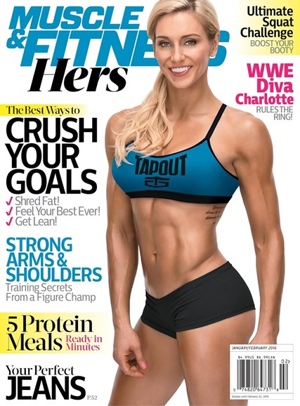 Muscle & Fitness Hers Cover - 1/1/2016