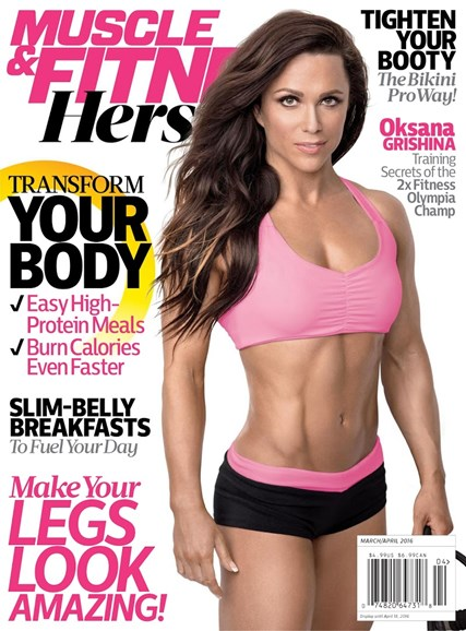 Muscle & Fitness Hers Cover - 3/1/2016
