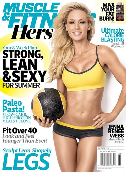 Muscle & Fitness Cover - 5/1/2016