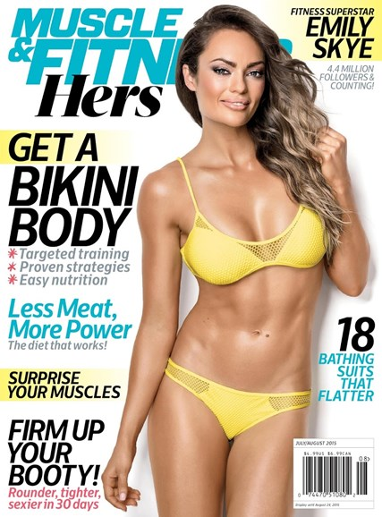 Muscle & Fitness Hers Cover - 7/1/2015