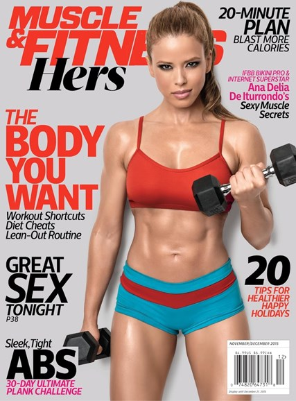 Muscle & Fitness Hers Cover - 11/1/2015
