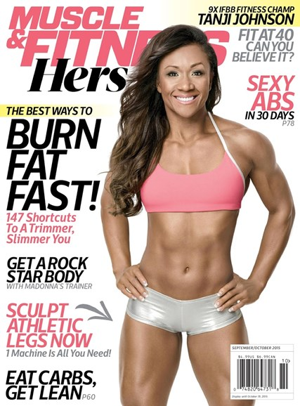 Muscle & Fitness Hers Cover - 9/1/2015