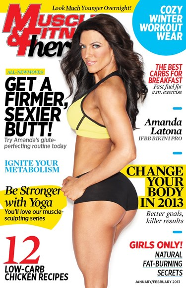 Muscle & Fitness Hers Cover - 1/1/2013