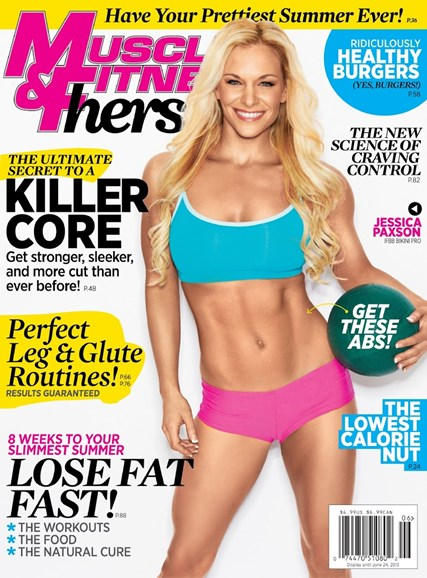Muscle & Fitness Hers Cover - 5/1/2013