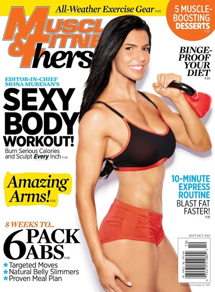 Muscle & Fitness Hers Cover - 9/1/2013