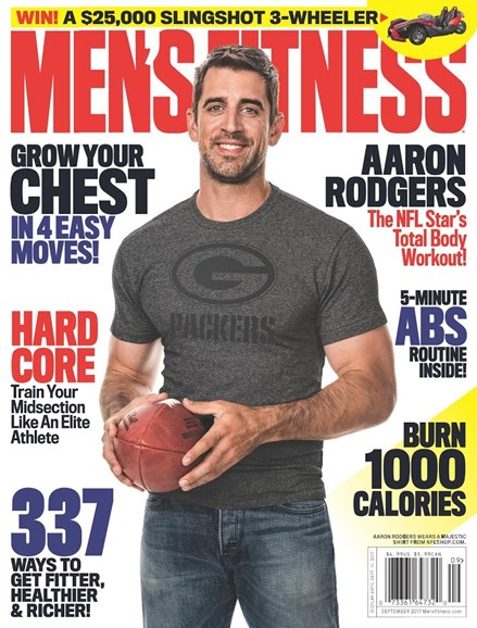 Men's Fitness Cover - 9/1/2017