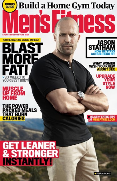 Men's Fitness Cover - 2/1/2013