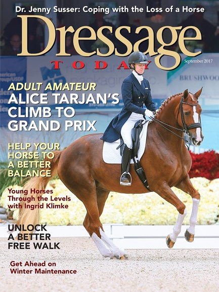 Dressage Today Cover - 9/1/2017