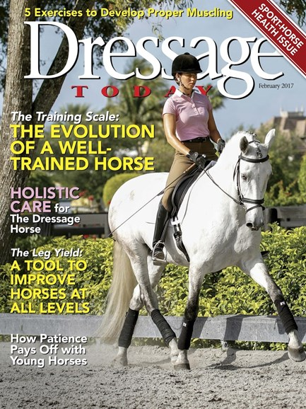 Dressage Today Cover - 2/1/2017
