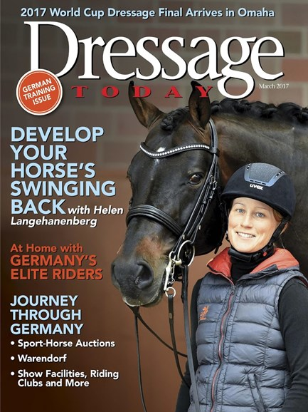 Dressage Today Cover - 3/1/2017
