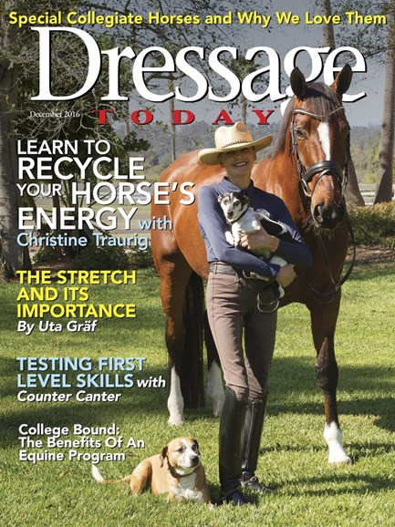 Dressage Today Cover - 12/1/2016