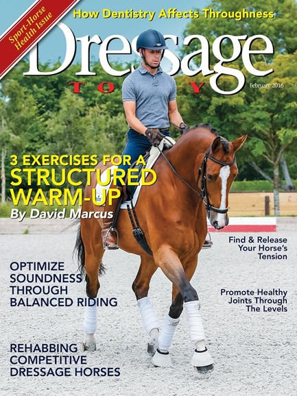 Dressage Today Cover - 2/1/2016