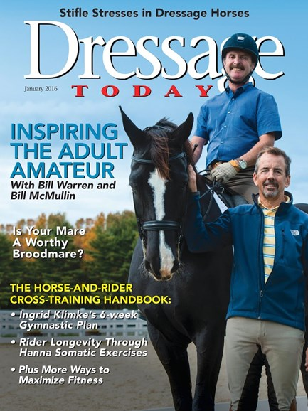 Dressage Today Cover - 1/1/2016