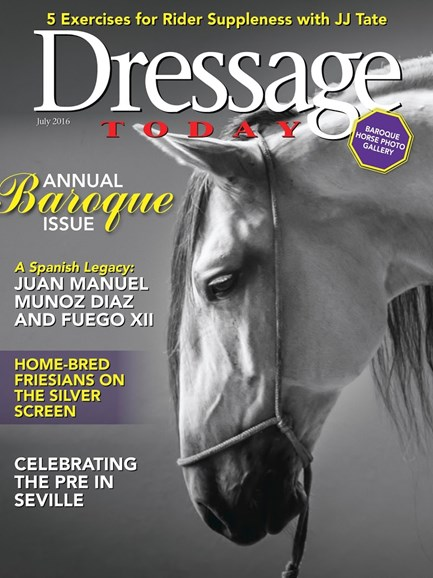 Dressage Today Cover - 7/1/2016