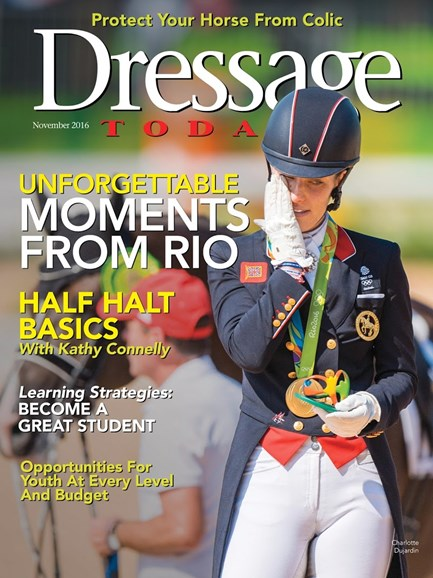 Dressage Today Cover - 11/1/2016