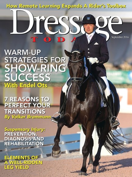 Dressage Today Cover - 9/1/2016