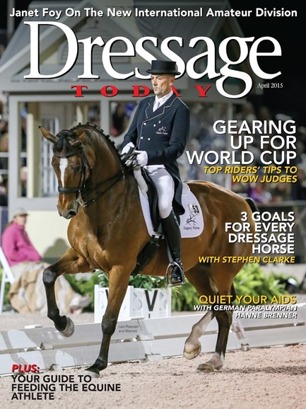 Dressage Today Cover - 4/1/2015