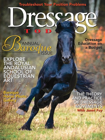 Dressage Today Cover - 8/1/2015