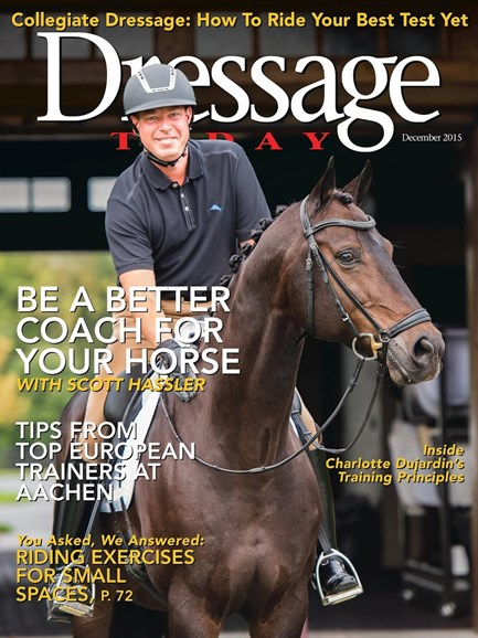Dressage Today Cover - 12/1/2015