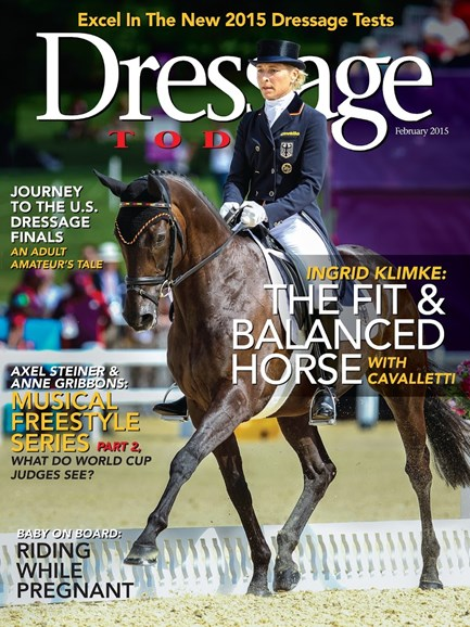 Dressage Today Cover - 2/1/2015