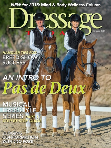 Dressage Today Cover - 1/1/2015