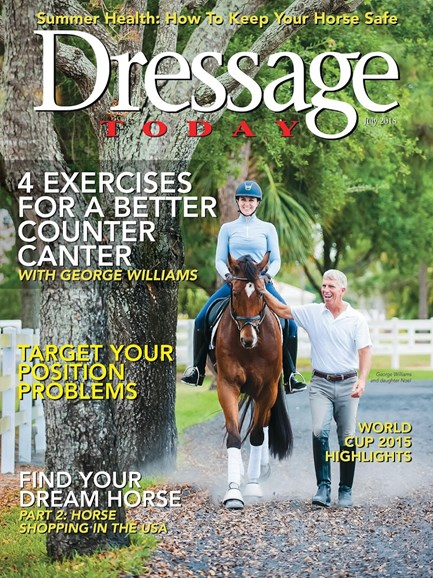 Dressage Today Cover - 7/1/2015