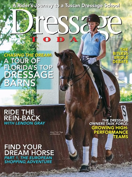 Dressage Today Cover - 6/1/2015