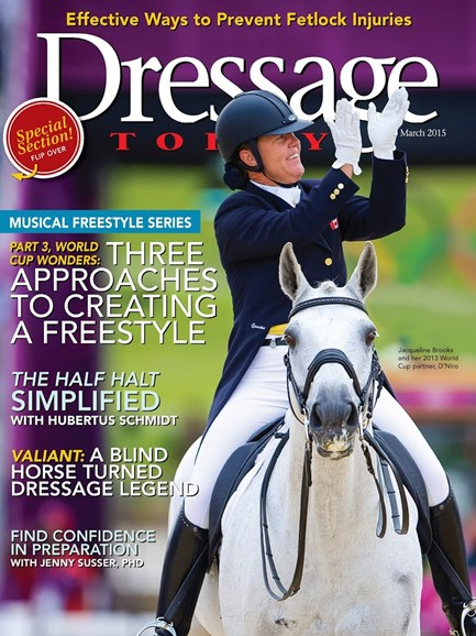 Dressage Today Cover - 3/1/2015