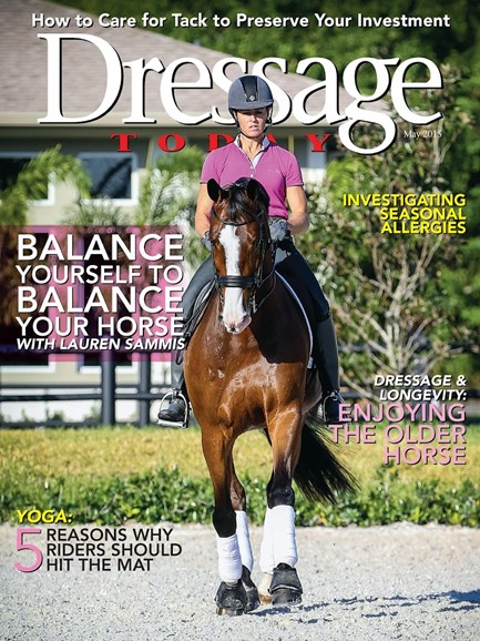 Dressage Today Cover - 5/1/2015