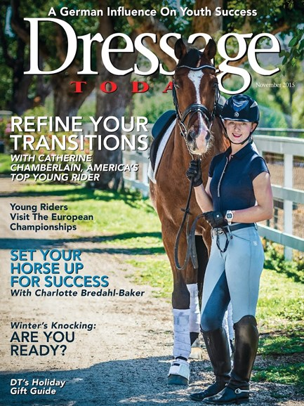 Dressage Today Cover - 11/1/2015