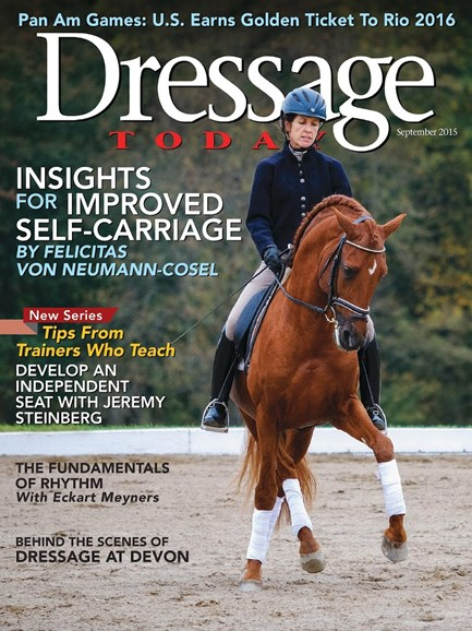 Dressage Today Cover - 9/1/2015