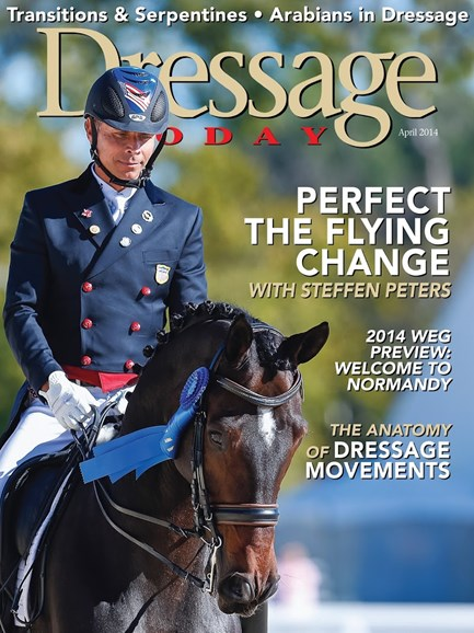 Dressage Today Cover - 4/1/2014