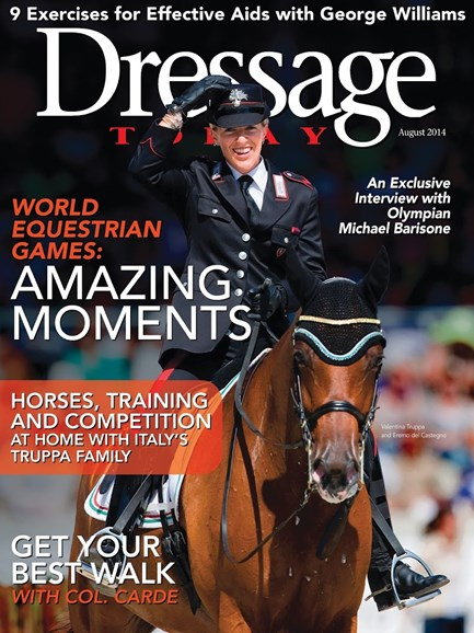 Dressage Today Cover - 8/1/2014