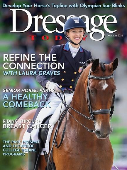 Dressage Today Cover - 12/1/2014