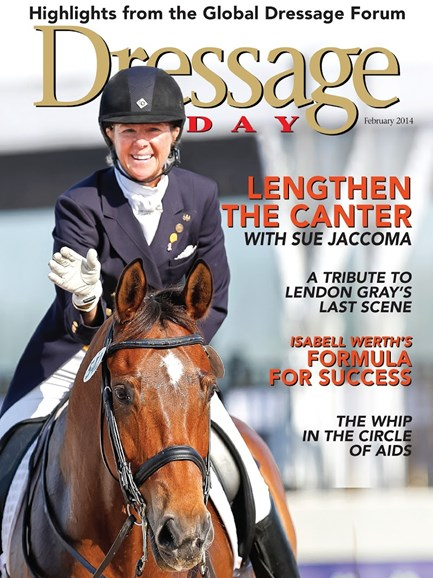 Dressage Today Cover - 2/1/2014