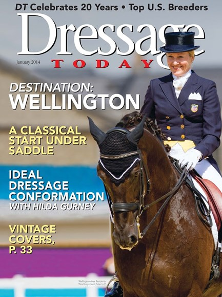 Dressage Today Cover - 1/1/2014