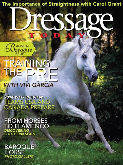 Dressage Today Cover - 7/1/2014