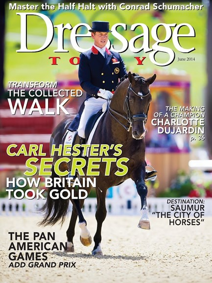 Dressage Today Cover - 6/1/2014