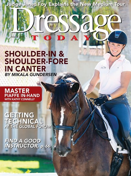 Dressage Today Cover - 3/1/2014