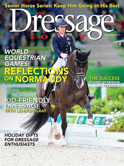 Dressage Today Cover - 11/1/2014