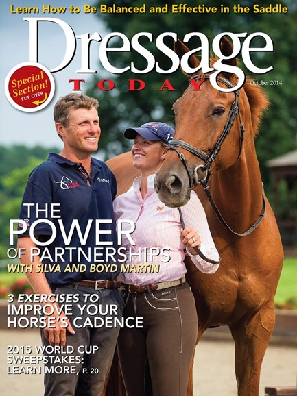 Dressage Today Cover - 10/1/2014